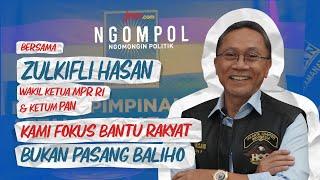 Terjawab, Zulkifli Hasan Bongkar Tujuan PAN Dekati Jokowi