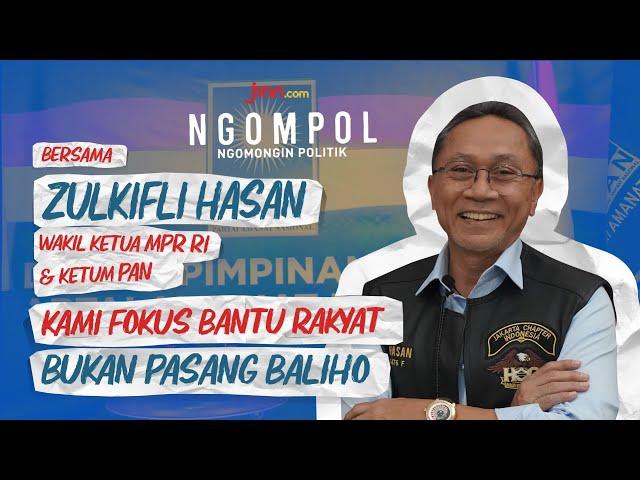 Terjawab, Zulkifli Hasan Bongkar Tujuan PAN Dekati Jokowi - JPNN.com