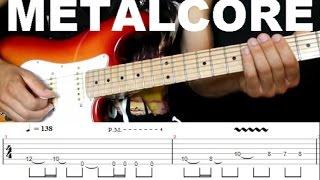 Урок на электрогитаре | Как играть крутой гитарный риф в стиле Металкор