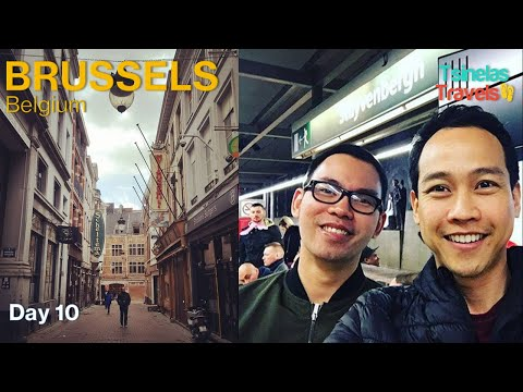 Europe Solo Travel Day 10 of 30 - Brussels, Belgium to Luxembourg City, Luxembourg