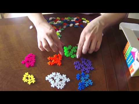 "ASMR: Playing with ""PlusPlus"" Small Plastic Pieces (No Talking)"