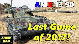 AMX 13 90 vs LT-15 (T-55a) - World of Tanks