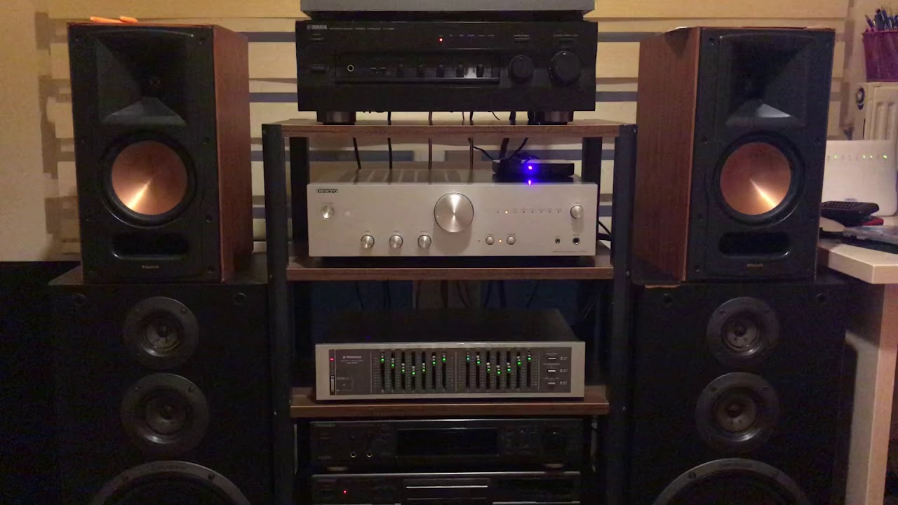 Yamaha AX 496 And Klipsch RB 61 II Vocal Performance
