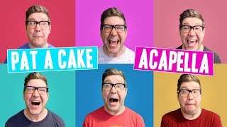 Pat a Cake ACAPELLA SONG | Children's Music Videos & Nursery Rhymes