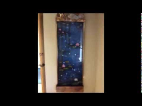 Dragonfly Indoor Wall Water Fountain - YouTube