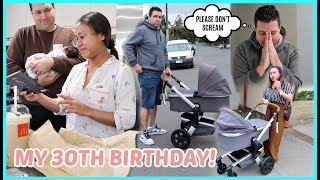 MY 30TH BIRTHDAY! PINAIYAK AKO NG MAG AMA KO! FIRST ROADTRIP NI ISLA! ❤️ | rhazevlogs