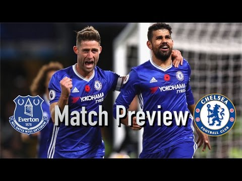 Match Preview || EVERTON v CHELSEA || COSTA vs LUKAKU!