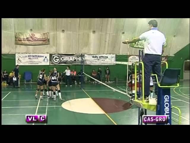 Pro Castelnuovo vs Volley Grottaferrata - 2° Set
