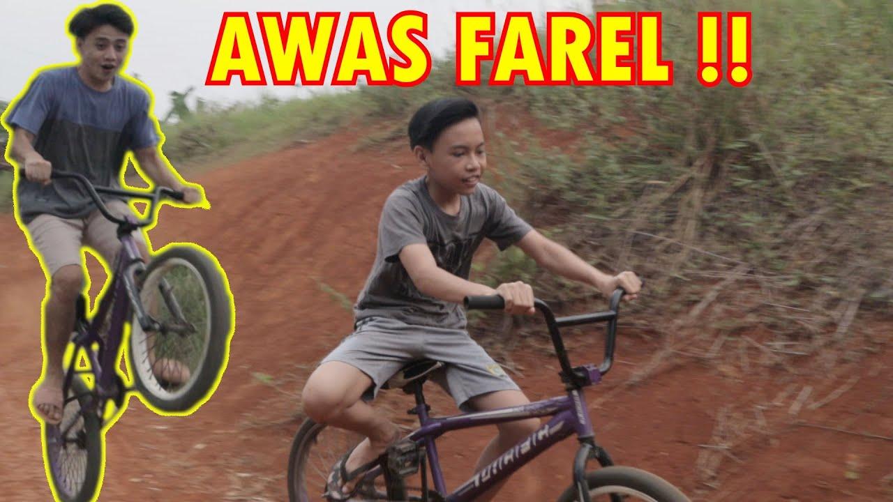 Farel Downhil Pake Bmx   Tanpa Rem - Noris Casper