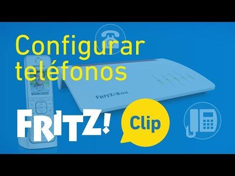 FRITZ! Clip – Configurar teléfonos