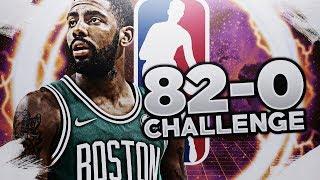 MY BEST TEAM IN 2K18! 82-0 REBUILD CHALLENGE! NBA 2K18