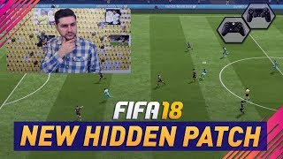 FIFA 18 NEW GAMEPLAY PATCH / UPDATE - DID EA FINALLY FIX THE GAMEPLAY !!?