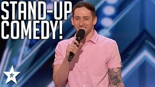 Comedian With Tourettes Syndrome Owns Stage On America's Got Talent 2018 | Got Talent Global