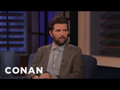 Cover Lagu Adam Scott Embarrassed Himself In Front Of Reese Witherspoon - CONAN on TBS mp3 pedia