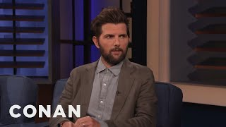 Adam Scott Embarrassed Himself In Front Of Reese Witherspoon - CONAN on TBS