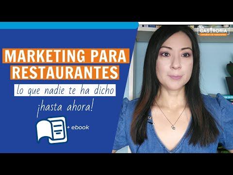 Marketing para restaurantes - lo que la mayoría no sabe.