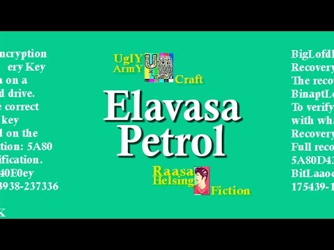 Elavasa Petrol | RaasaHelsing | Fiction | UglyArmy | 2018