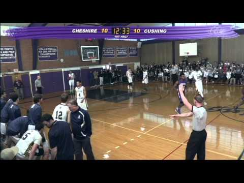 Cushing Academy - Varsity Boys Basketball vs. Cheshire Academy
