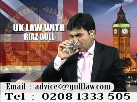 UK Law with Riaz Gull 23.07.2015