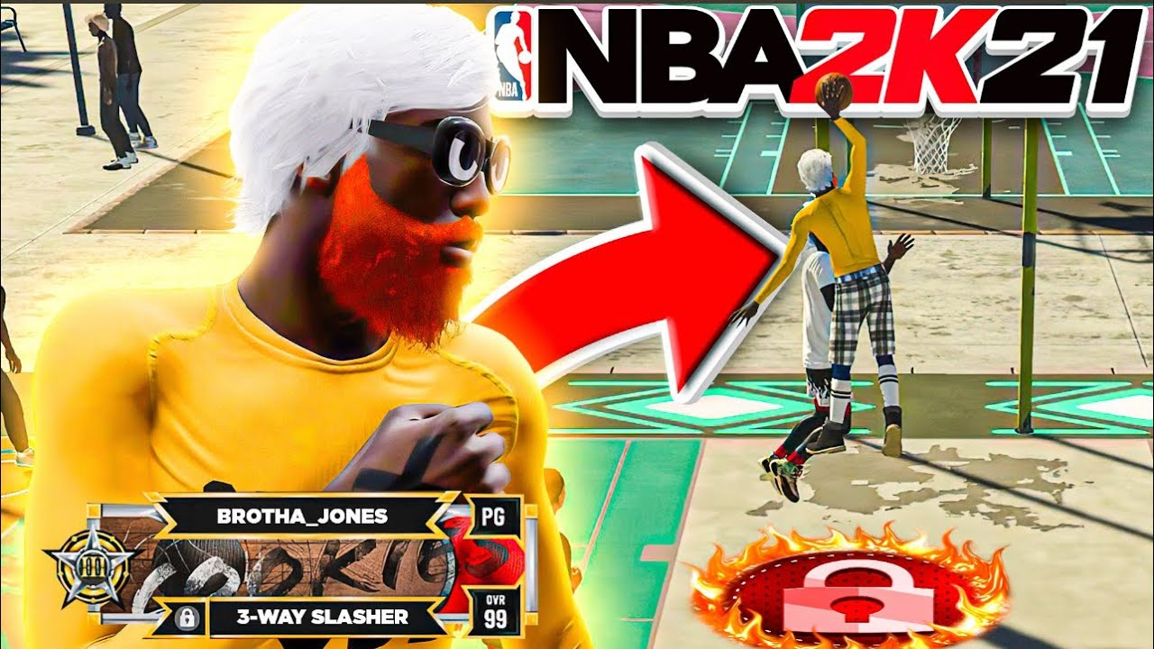 THIS #1 SLASHER BUILD IS A GLITCH 🔥🔥🔥CRAZY CONTACT DUNKS! BEST SLASHER BUILD IN NBA 2K21!