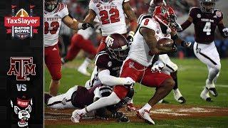 Texas A&M vs. NC State Gator Bowl Highlights (2018)