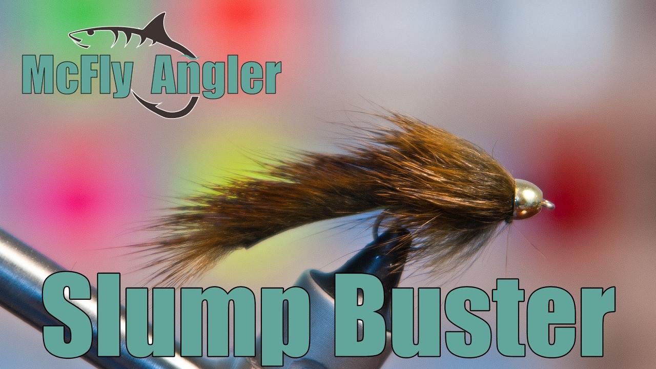 1 Slump Buster Black Sculpin Streamer Fly Size 8 Or Size 10 Barr/'s Umpqua