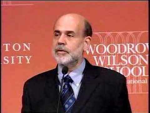 Ben Bernanke at Princeton