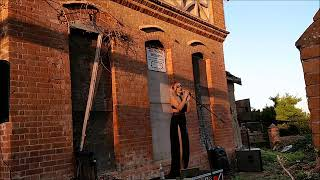Day Of The Dead - Tamsin Ball outside Seafield House, Westward Ho!