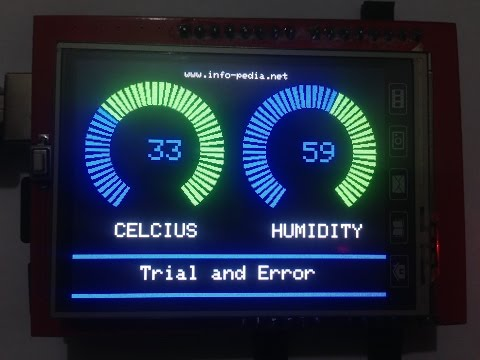 Thermohygrometer With Clock and LCD Display on Arduino