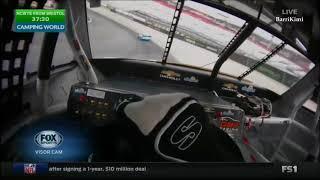NASCAR Trucks Series Bristol 2017 Practice Sauter Onboard Laps with Visor Cam