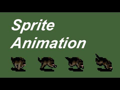 JavaScript HTML Game Development Tutorial 7 - Canvas Sprite Animation [js]