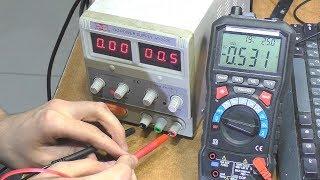 Не регулюється напруга ЛБП Mastech HY3005