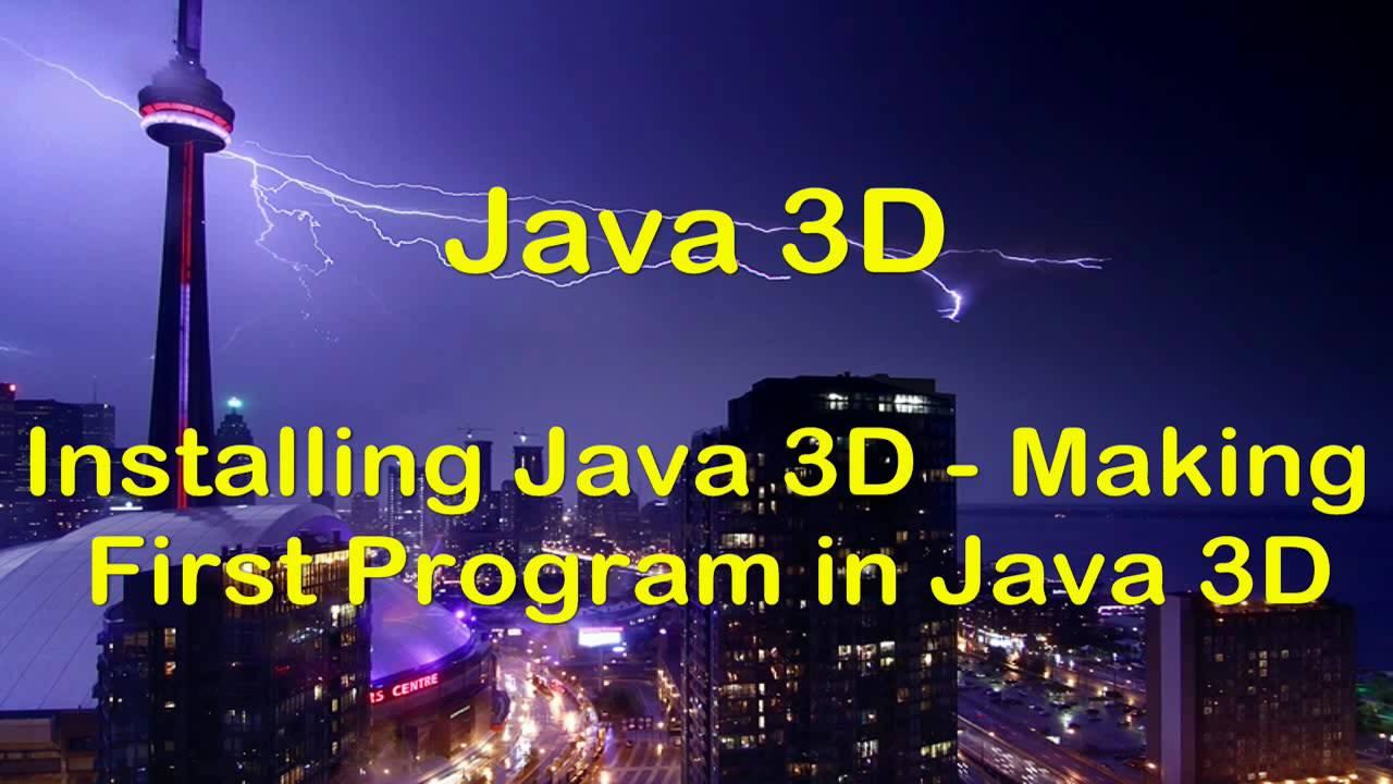 Hd java 3d swing tutorial installing java 3d first 3d gui hd java 3d swing tutorial installing java 3d first 3d gui program youtube baditri Choice Image