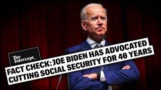 Dear Joe Biden's Older Supporters, He Wants to Cut YOUR Social Security!