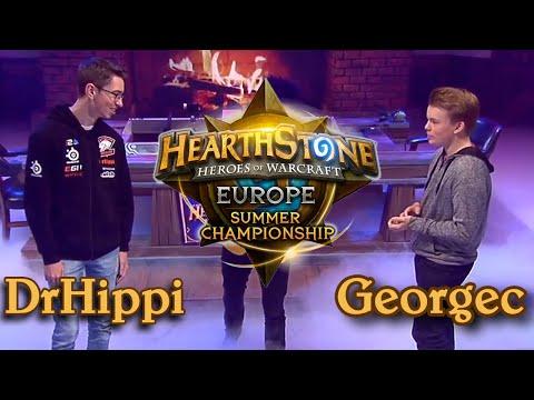 DrHippi vs George - HCT 2016 Europe Summer Championship: Grand Final
