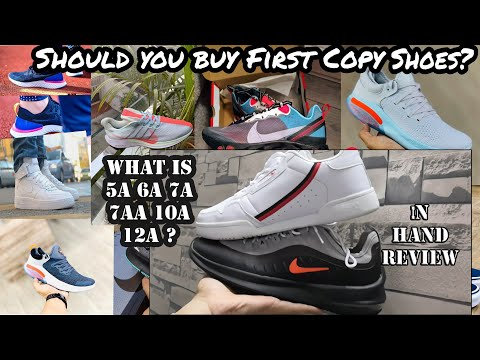 FIRST COPY SHOES vs ORIGINAL SHOES IN