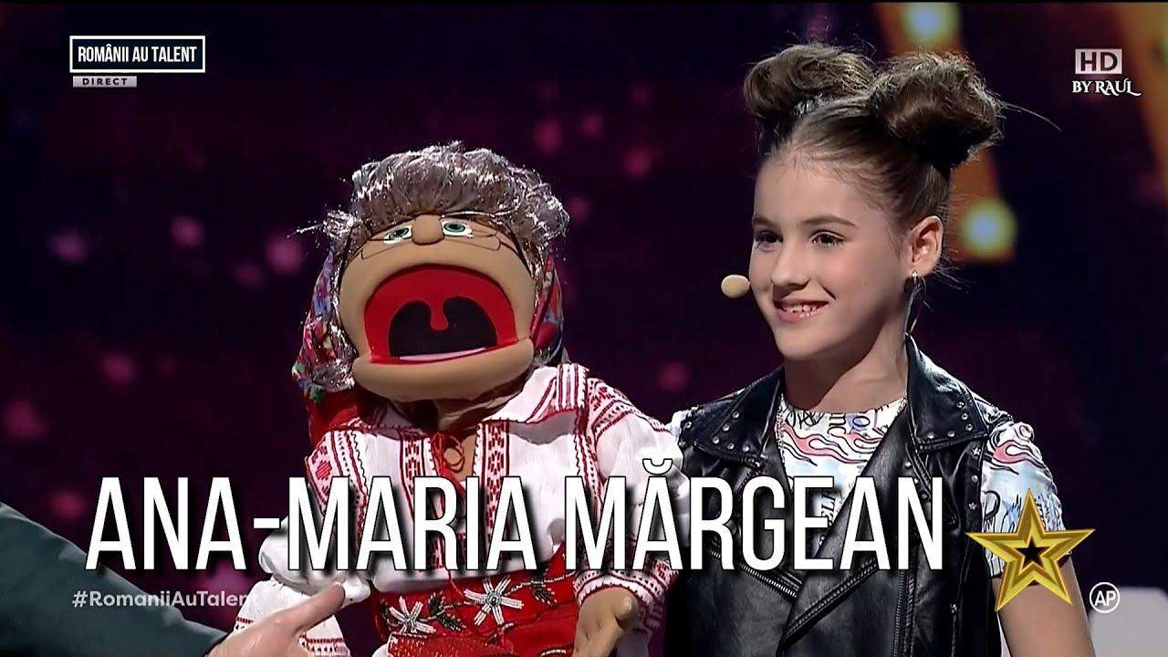 Românii au talent: Ana-Maria Mărgean | JURIZARE - Semifinala 1 | A dus ventrilocia la un alt nivel!