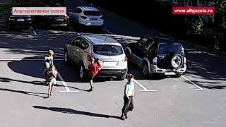 Дети бьют животных и машины в Хотьково