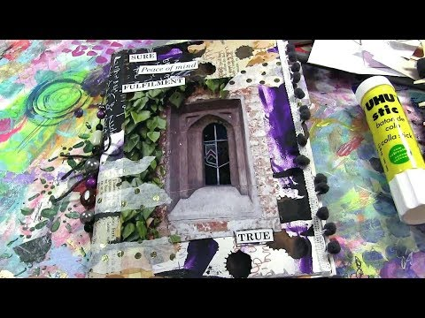 The Shift ~ Art Journal Making Process for Creating Change