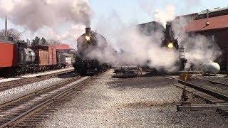 Railfanning Strasburg 475 and 89