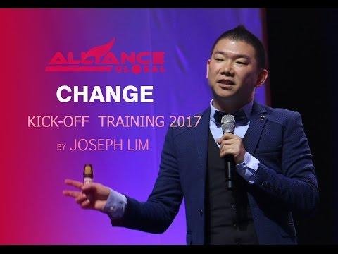CHANGE by Joseph Lim Kick Off Training 2017