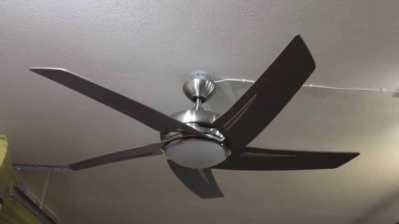 "54"" Hampton Bay Sidewinder Ceiling Fan"