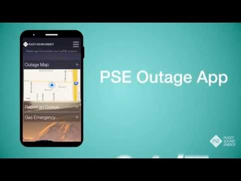 PSE Launches New Outage App; Download for Free