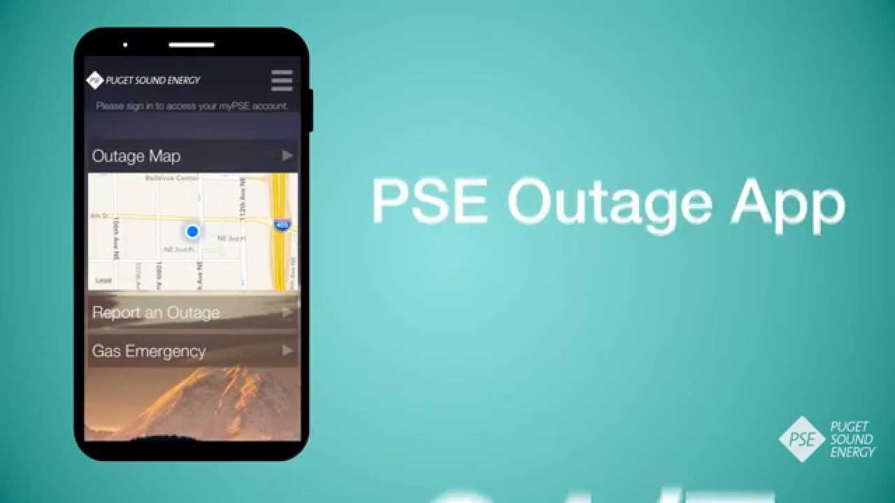 PSE Launches New Outage App; Download for Free - YouTube
