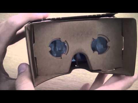 Test du Google Cardboard : un casque de réalité virtuelle en carton