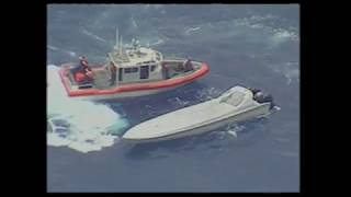 Coast Guard takes down go fast boat crew with 3,400 lbs of cocaine