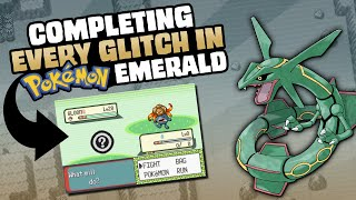 HOW EASILY CAN YOU GLITCH POKEMON EMERALD?