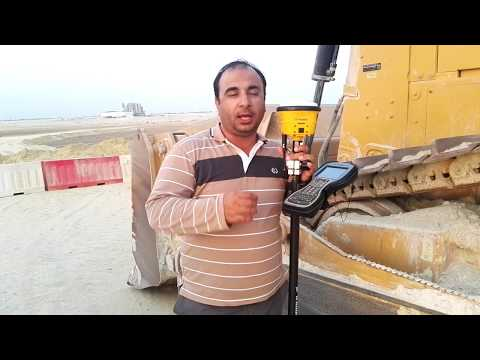 Observe Topography Continuous data or measure fix points with GPS with fix time in Urdu/Hindi