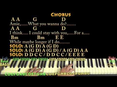 Amie (Pure Prairie League) Piano Jamtrack with Chords/Lyrics