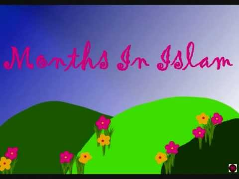 Let S Learn The Islamic Calendar Months In Islam Children Nasheed